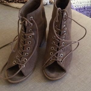 Lace up booties 6